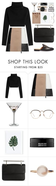"""""""There's no future, there's no past. In the present, nothing lasts."""" by astoriachung ❤ liked on Polyvore featuring Valentino, Alexander Wang, Dartington Crystal, Linda Farrow, Rifle Paper Co, Kenzoki, Urban Outfitters, M2Malletier, Sophie Bille Brahe and Gucci"""