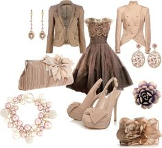 winter wedding guest, created by lkuhn23 on Polyvore