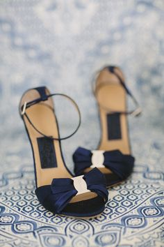 Ideas for wedding shoes navy heels classy Blue Wedding Shoes, Pink And Gold Wedding, Bridal Shoes, Sandals Wedding, Wedding Pumps, Blue Bridal, Up Shoes, Me Too Shoes, Navy Heels