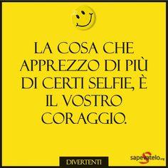 frasi che fanno ridere Italian Language, Me Quotes, Sad, Love You, Memes, Funny, Tumbler, Sarcasm, Photos