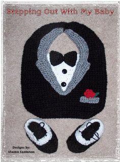 babero Crochet smokin