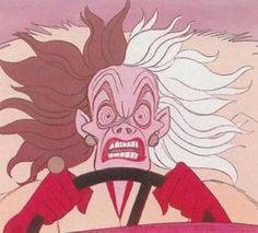 La méchante Cruella ne me plait pas du tout !