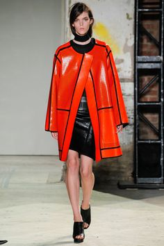 Proenza Schouler Spring 2013 Ready-to-Wear Fashion Show - Meghan Collison