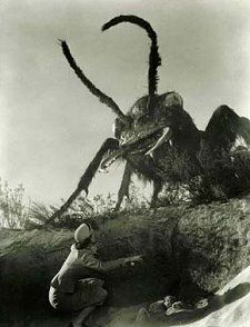Giant Ant (Them 1954). When a women orders you to use your flamethrower, DO IT!