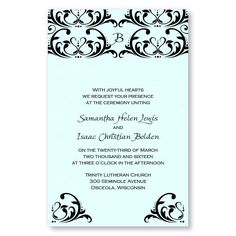 Celebrate the Day Wedding Invitations by MyGatsby.com