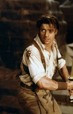 Brendan Fraser at his best. Plus any guy wearing and explorer outfit like this is automatically 10x hotter.