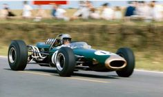 Jack Brabham, French GP, Rheims 1966, Brabham BT 19 Repco...