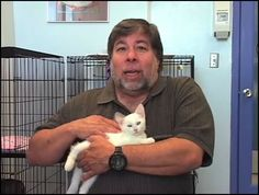 Steve Wozniak.  (He doesn't look so smart in this picture.)