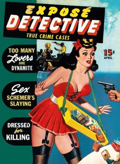 """Expose Detective"", April 1942"