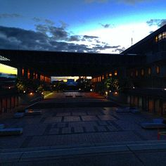 Love this evening shot of Convocation Mall from @patches42089.