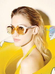 55d2ed2bd8bf Karen Walker Poolside Eyewear Collection