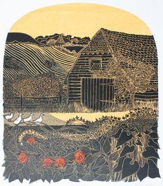 'Four Ducks Barn' by Robert Tavener