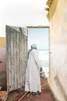 "Sustainable Travel winner: Greta Rybus for ""A Man Looks Out the Door"" 