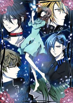 Amnesia ~~ Such beautiful men. Too bad the heroine got on my nerves so badly.
