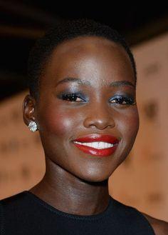 Lupita Nyong'o's Glazed Shimmer