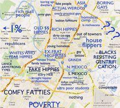 Judgmental map of Wichita, Kansas   Judgemental map of wichita ks ...