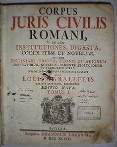 El latín es de suma importancia para los hombres de derecho. En tiempos antiguos la mayoría de Europa estaba regida por los roman...