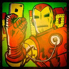 Marvel #Selfies: Avengers Project by Butcher Billy on Behance