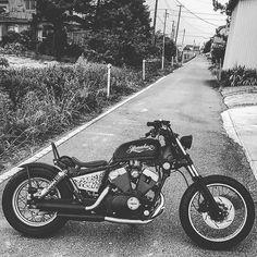 xv250 #xv250virago #virago #virago250 #yamaha #yamahavirago #motorcycle #bike #custombike #custommotorcycle by takasyou0925