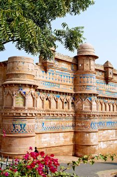 Fort Gwalior, India.                                                                                                                                                                                 Mais