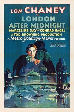La Casa del Horror (London After Midnight), de Tod Browning, 1927