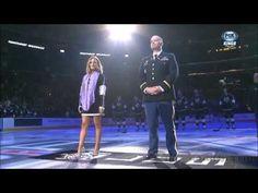 Pia Toscano Sings The National Anthem - LA Kings vs Carolina Hurricanes ...