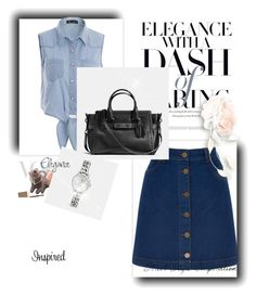 """stye 1"" by fashionshows on Polyvore featuring Oasis and Coach"