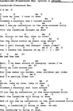 Landslide / Fleetwood Mac