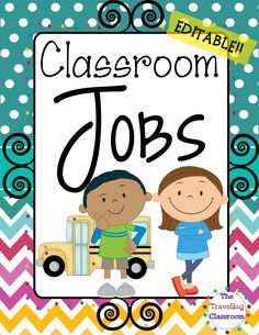 Bring a festive and fun evironment to your classroom this year with this Classroom Jobs Set!$