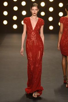 Naeem Khan - Runway - Mercedes-Benz Fashion Week Fall 2014