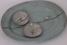oval platter sushi bowls in chocolate stoneware clay art by Sonja Moore Sushi Bowl, Play Clay, Stoneware Clay, Clay Art, Pottery, Ceramics, Chocolate, Tableware, Bowls