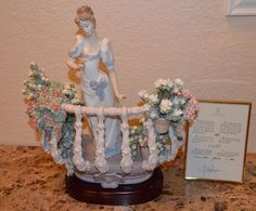 Lladro Faraway Thoughts Limited Editon 1798 Mint in Original Box Retired