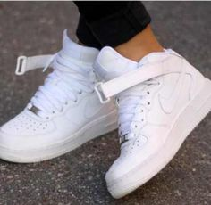 White forces high tops