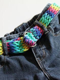 cinto tejido para pantalon