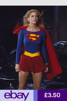 Cosplay DC Comics in film - 1984 - Supergirl - Helen Slater as Supergirl Supergirl Movie, Supergirl Superman, Supergirl Season, Batwoman, Batgirl, Helen Slater Supergirl, Melissa Supergirl, Film Science Fiction, Lying Game
