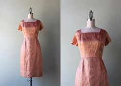 1960s cocktail dress / vintage 60s dress / 50s 60s by HolliePoint, $78.00