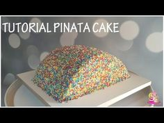 ♡• GATEAU SURPRISE FACILE EN FRANCAIS - PINATA CAKE •♡ - YouTube