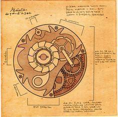 Ancient Mechanism Blueprint