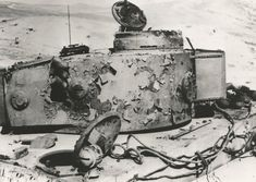 Tiger I knocked out by Lancers