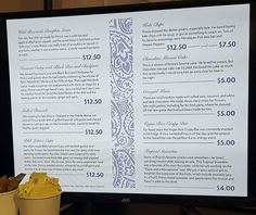 Prince diner menu @ Paisley Park museum. Prince Paisley Park, Prince And Mayte, Prince Purple Rain, Dearly Beloved, Interesting Information, Roger Nelson, Prince Rogers Nelson, Proud Of Me, Beautiful One