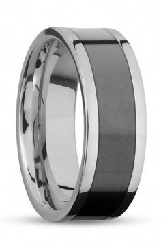 Ring Size 10.5 Security Jewelers Tungsten 8.3mm Band with Black Immersion Plating Size 10.5