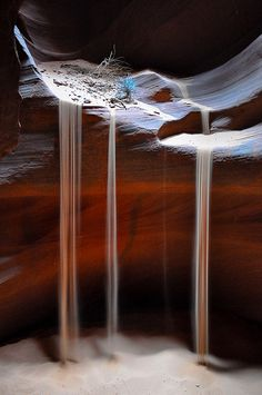 Sand Falls - Upper Antelope Canyon, Arizona   Flickr - Photo Sharing!