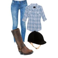 Cute Horseback Riding Outfit