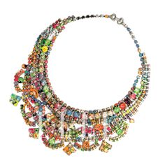 Metal and Bead Necklace, Le Mill