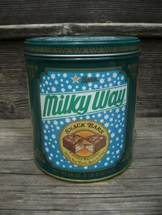 Milky Way Vintage Snack Bars Tin 1987 24 Ounces/1 by EclecticGals, $9.50