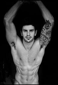 #Sexy Unknow #tattoo #guy
