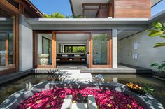 Bendega Rato - Garden suite flower bath