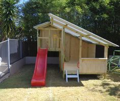 A brand new My Cubby Cubby House. All ready for painting #kids #play Cubby #Christmas #Christmasgift