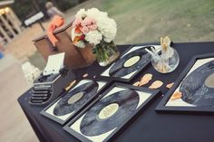 super fun guest book that will look awesome on the wall--I want this for my baby shower! My daughter's room is going to be music themed! Wedding Decor, Wedding Themes, Wedding Blog, Diy Wedding, Wedding Ideas, Wedding Ceremony, Fall Wedding, Party Themes, Reception