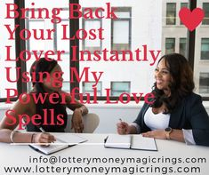 This spell is cast for people who desperately want to get their love back. Often there is a break up between a couple due to misunderstanding etc. This spell will patch up the differences and your love will be back with you forever.